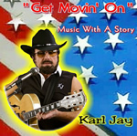 Movin On - Karl Jay country music CD